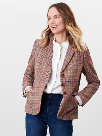 Joules Highcombe Pink Jacket