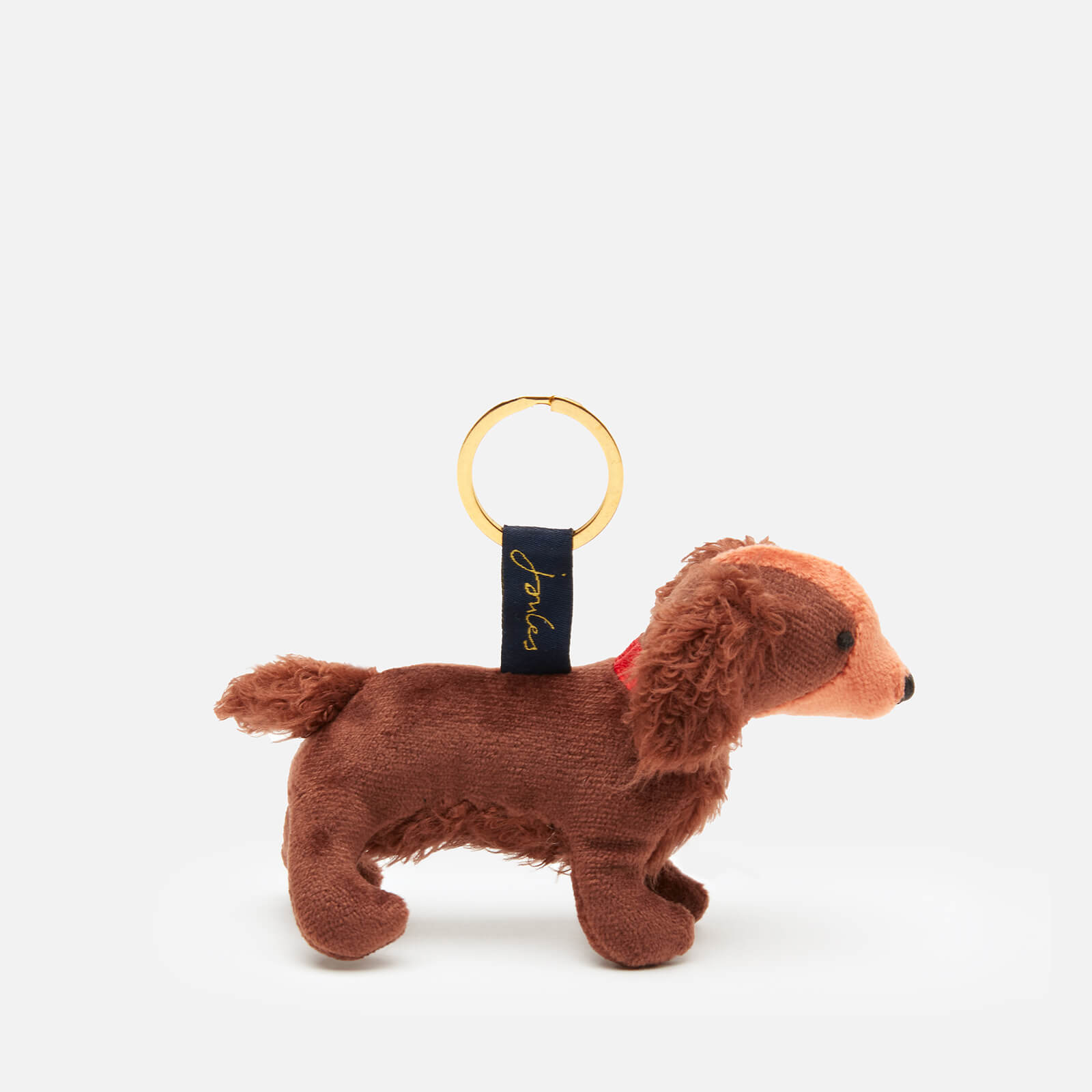 Joules Charmwell Brown Spaniel Keyring