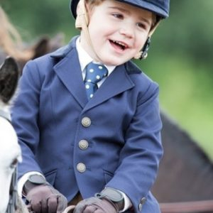 Shires Aston Childs Jacket Navy