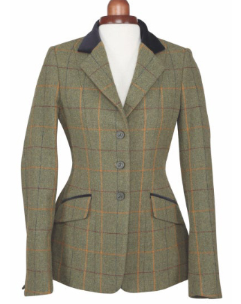 Aubrion Saratoga Copper Check Jacket Childs