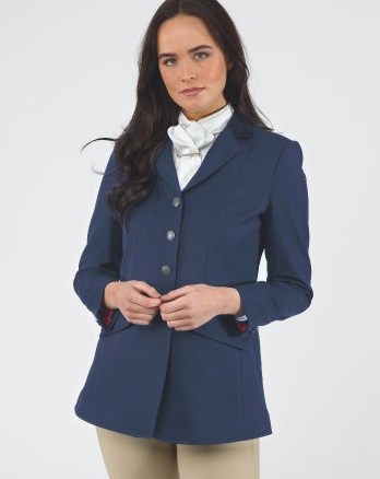 Shires Aston Ladies Jacket Navy