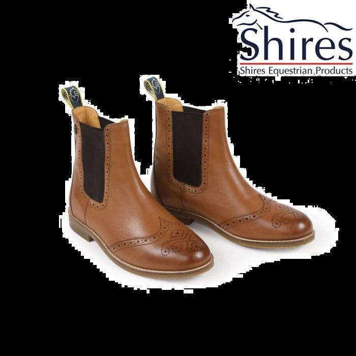 Shires Moretta Nicoli Boots Tan