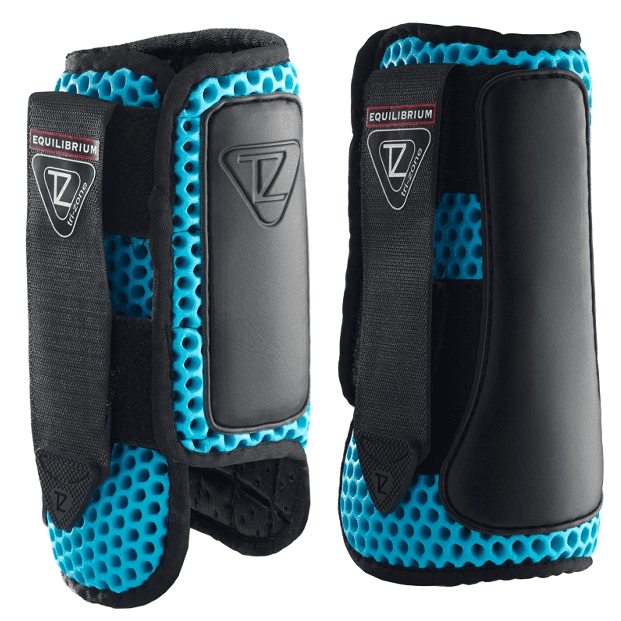Tri-Zone Impact Sports Boots Fronts Blue